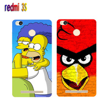 Xiaomi redmi 3s Case,Silicon Popular Cartoon Painting Soft TPU Back Cover for Xiaomi redmi 3 s Phone Protective Case Capa Funda