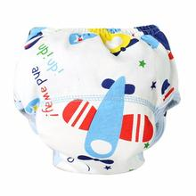 7 Styles Newborn Infant Baby Boy Girl Soft Baby Nappies Baby Cotton Training Pants Reusable Cloth Diaper Washable Nappies Pants(China)