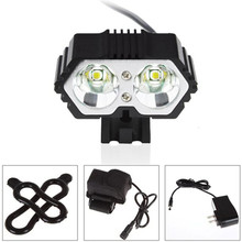 6000LM XM-L T6 LED Bike Bicycle Torch Headlight +6400mAh Battery Pack 3Mode Cycling Bicycle Accessories Top Quality Mar 13