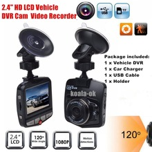 "2.4"" HD LCD Car Vehicle DVR Cam Camera Video Recorder Vehicle Parking Video Registrator Camera Recorder Camera Video Recorder(China)"