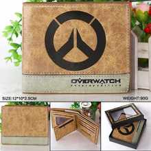 Game Overwatch Wallets  Overwatch Purse short wallet For men women Leather Money Bag