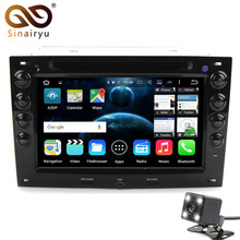 "Sinairyu HD Auto PC 1024*600 Dual Din 7"" Android 6.0 or 7.1 Car DVD GPS For Renault Megane 2 ii 2003-2010 Stereo Radio WiFi DVR(China)"