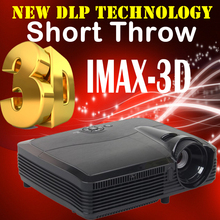 Ultra Short Throw Smart DLP Projector Home Theater 1080P Android Beamer High Brightness 7500 lumens Daylight use with HDMI VGA
