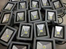 Free shipping 10W LED Flood light outdoor lighting color 3000k / 6500k waterproof IP 65 20PCS / Lot(China)