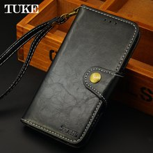 TUKE Case for Doogee X5 X5s X 5 Cell Phone Leather Flip Wallet TPU Back Cover Android Mobile Case for Dogee X5 Pro Free Lanyard(China)