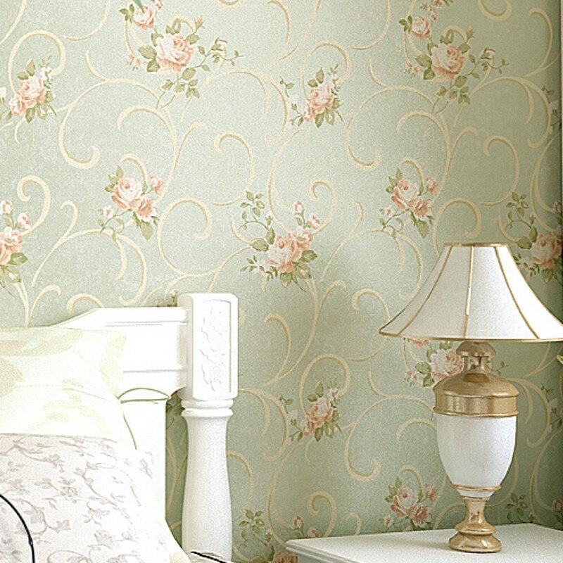beibehang Vintage Feminine Floral Bouquet wallpaper rolls Flower Trail Floral Wall paper 3D design effect home gorgeous decor R3<br>