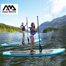 330*75*10cm AQUA MARINA 11 feet VAPOR inflatable surfboard stand up paddle board inflatable surf board sup paddle boat A01001(China)