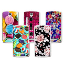 Lovely Fashion Coloured Painted Case ZTE Blade L5 ZTE Blade L5 Plus Case Cover Cute Art printed Flower fundas ZTE L5+Free Gift