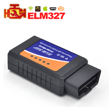 20pcs/lot Newest ELM327 WIFI OBDII OBD2 Auto Diagnostic Tool Scanner Support Iphone Ipad / Android / Windows DHL Free Shipping(China)