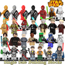 Building Blocks Star Wars C-3PO Jedi Knight Obi-Wan Kenobi Darth Sidious Super Heroes Deadpool diy figures Bricks Kids DIY Toys