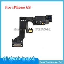 MXHOBIC 5pcs/lot High Quality Small Camera for iPhone 6S 4.7'' Front Camera Lens with Proximity Light Sensor Flex Cable