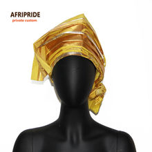 2017new african Head Scarf print cotton wax high quality women african clothing Headwear