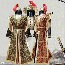 han fu han dynasty costume for men chinese ancient warrior costume han dynasty clothes(China)
