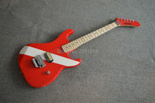 High quality Best Price New Arrival EVH Kramer Red color Wilkinson pickup  Flory Rose Free shipping