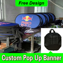Free Design Free Shipping Horizontal A Frame Banner Pop Up A Frame Banner Pop Up Sideline Banners(China)