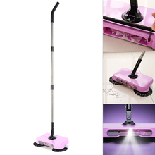 Floor Dust Sweeper Mops Intelligent Hand Push Sweeping Robot Household Cleaning Machine Hand Push Sweepers Flat Magic Mops Home(China)