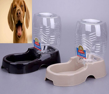 Automatic Pet Dog Cat Puppy Water Dispenser Food Dish Bowl Feeder Pet Drinking Fountain Supplies