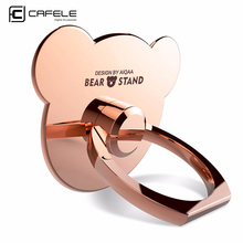 CAFELE Original New Luxury Finger Ring Mobile Phone Universal Stand Holder For iPhone 7 iPad2 Samsung S8 all Smart Phone