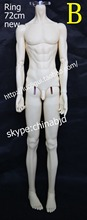 1/3rd  BJD body ring 72CM without head,BJD/SD doll boy body.not include clothes;wig;shoes and other access&ies