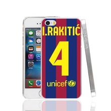 01159 RAKITIC Spain football player Cover cell phone Case for iPhone 4 4S 5 5S SE 5C 6 6S 7 Plus