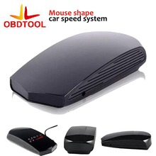 Super Drop Ship Fahsion Type Mouse V03 Laser Speed Of 360 degree Voice Warning Car Electronic Dog Radar Detector(China)