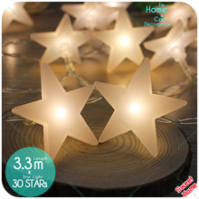 Buy 30 Leds 3.3m Holiday Shining Star Fairy String Light Garden Christmas Wedding Engagement Birthday Party DIY Decoration for $8.80 in AliExpress store