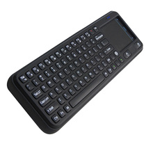2.4G USB Wireless Keyboard Measy RC8 3-in-1 Mini Air Fly Mouse Mice Touchpad Remote Computer Keyboard for Mini PC Android TV Box(China)