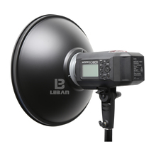 Godox AD-H5 55cm 21.65 Inch Speedlite Flash Beauty Dish Reflector for Godox Witstro AD600 AD600M (Don't include the Grid)