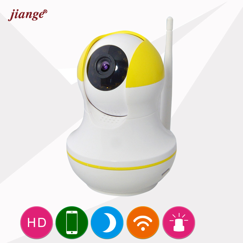 jiange Factory Price 720P Mini Wireless IP Camera Quick&Easy Setup QR CODE Scan Connect Wifi Surveillance CameraTwo-Way Audio(China)