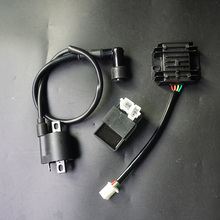 Ignition Coil + CDI UNIT + Regulator Rectifier 125cc 150cc 200cc 250cc 300cc PIT PRO Quad Dirt Bike ATV Buggy