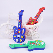 2017 New Baby Infant Electronic Guitar Toy Nursery Rhyme Music Children Baby Kids Toy Gift 12 Songs