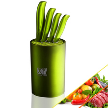 colored kitchen knife block set online shopping-the world largest