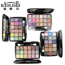Baolishi 18 Color Best Matte Naked Natural Eyeshadow Palette Professional Smokey Glitter Eye Shadow Brand Makeup Cosmetics