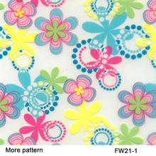 FW021-1 Flower pattern 50Squar meters hologram water transfer Width 50cm hydrographic film
