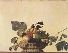 100 %hand-painted famous artists painting reproduction by Caravaggio handmade  oil painting high quality Basket-of-Fruit