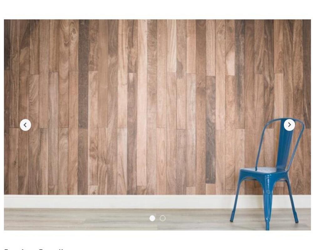 Custom texture wallpaper,Sanded Wooden Flooring Texture for living room bedroom restaurant hotel KTV backdrop decorative paper<br>
