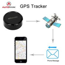 Kkmoon Mini Portable SOS GPS Tracker Car Motorcycle Vehicle Auto 2G GSM GPRS Real Time Tracking Device for Children Elder Pet