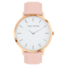 New Listing designer luxury Leather Quartz Movement Simplicity Classic Women Watch Dress Men Sports Famous Brand Watch THE FIFTH
