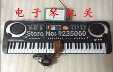 Electronic organ props to open the lock real life room escape mysterious door game(China)