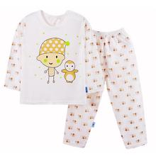baby clothes set 2016 kids tracksuit Cotton Pajamas cheap infant clothing toddler boys girls clothing moda infantil good