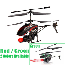 WLtoys WL V398 Remote Control Helicopter 3.5 Channels Missile Launching Attack RC Helicopter Aircraft Toys Hot Sale Best Price