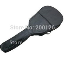 Free shipping size 39'' Classic Guitar Bag guitar cover double back strap(China)
