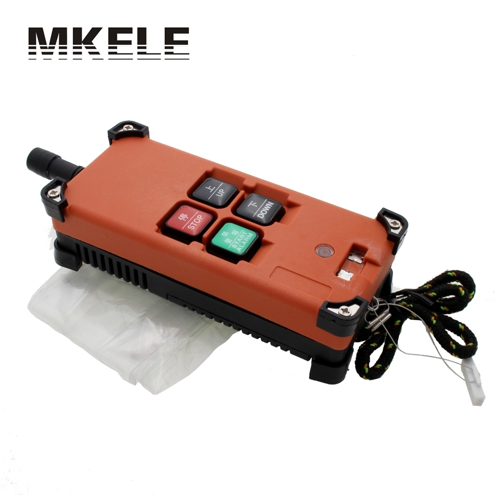 Hot Sale Industrial Universal Radio Wireless Remote Control Distance For Overhead Crane AC/DC<br>