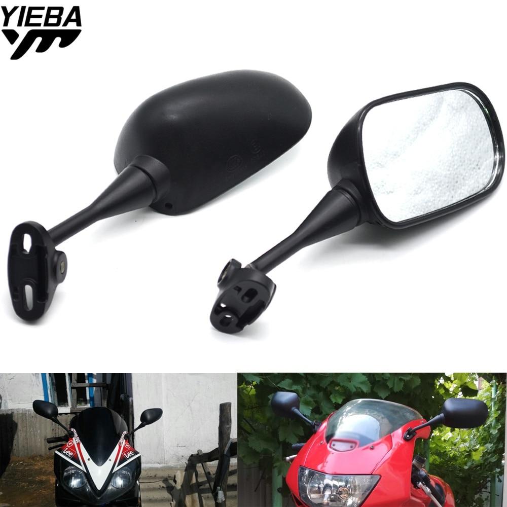 Motorcycle Mirror Motorbike Side Mirrors Rearview Mirror For Kawasaki ZX6R ZX7R ZX10R ZX14R NINJA650R Z800 Z1000 yamaha mt09 07