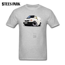 Mens Summer Shirts Short Sleeve Volkswagen T4 Transporter Mens Round Collar Short Sleeve T Shirts Cheap Homme Cool Tshirt(China)