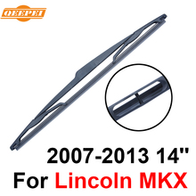 QEEPEI Rear Wiper Blade No Arm For Lincoln MKX 2007-2013 14'' 5 door Crossover High Quality Iso9001 Natural Rubber C1-35(China)