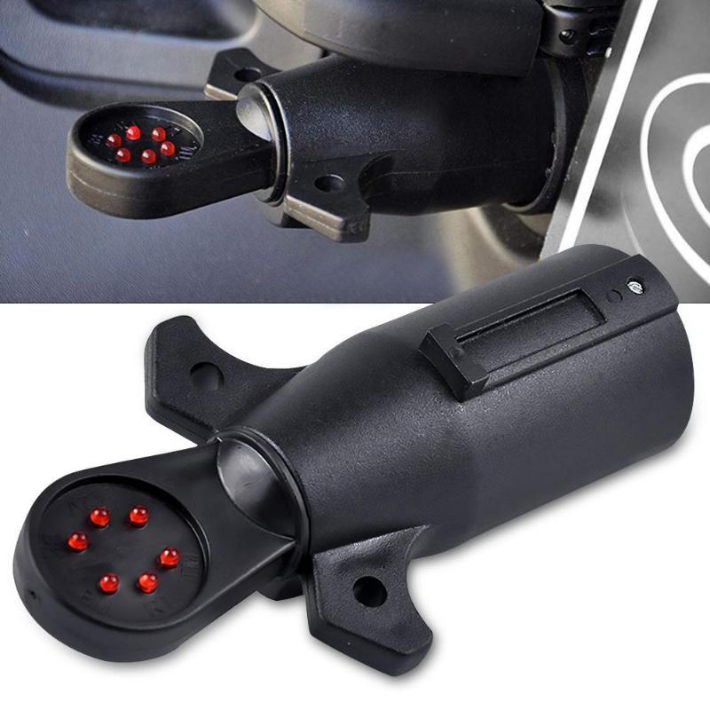 Gancho de remolque 7 Pin Socket pernos de fijación /& Tuercas-Tornillos de zócalo