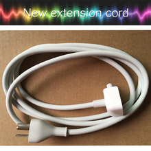 "US Plug 1.8M AC Power Adapter Extension Cable Cord for Macbook Mac 11"" 12"" 13.3'' 15.4"" 17"" MagSafe Charger adapter"