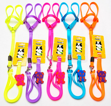 1083# Wholesale Pet Products Dog Supplies Dog Harness & Leads Cat Leads Colorful New Coming Very Cute 10PCS/LOT(China)