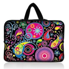 "12"" Colorful Hippy Universal Laptop Sleeve Bag Case Cover For Samsung Google 11.6"" Chromebook,11.6"" Acer Aspire One,Macbook Air(China)"